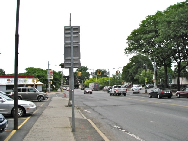 Scenic Byway View - Erie Blvd. looking southward