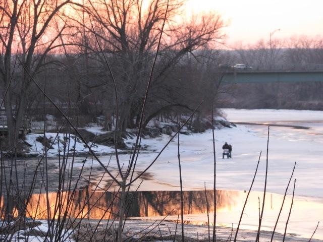 Fools On Ice on the Mohawk - 27Feb2009