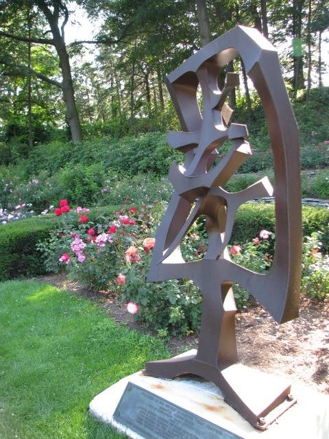Schenectady Rose Garden 2009 - Yuan Sculpture by Robert Blood