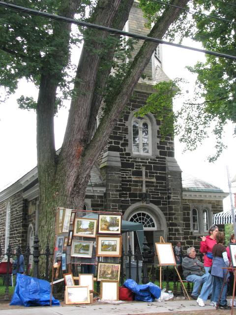 St. George's Episcopal Church, Schenectady Stockade 12Sep09