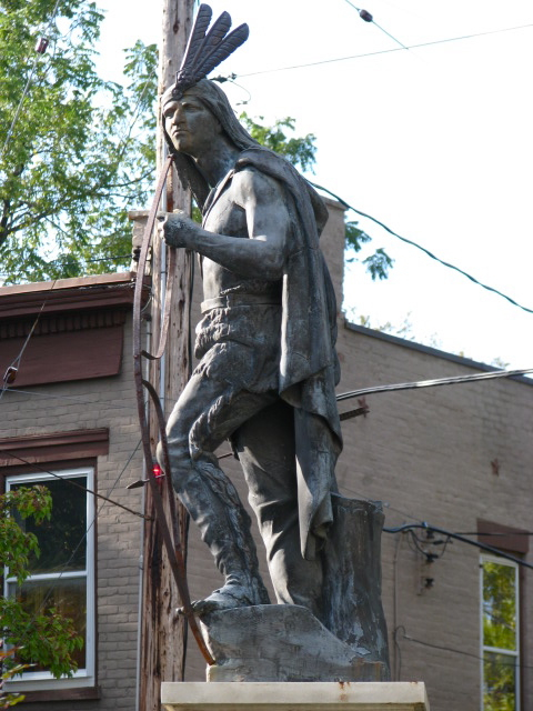 Lawrence the Indian, Schenectady Stockade, October 10, 2009