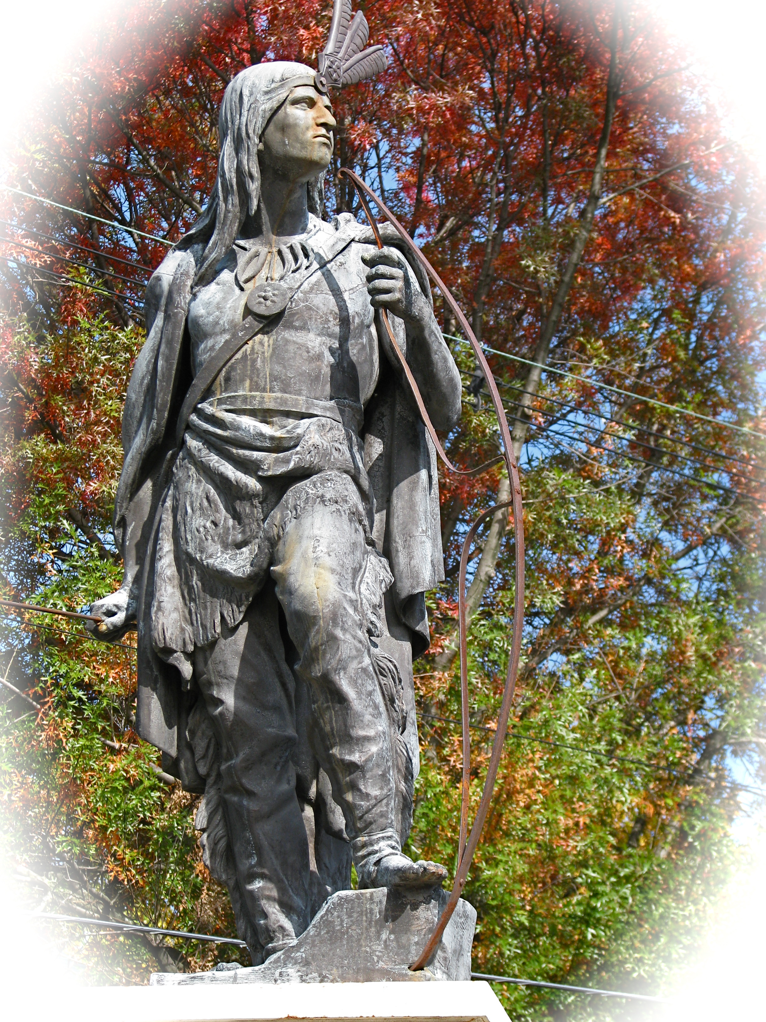 Lawrence the Indian, Schenectady Stockade Historic District - Oct. 16, 2009