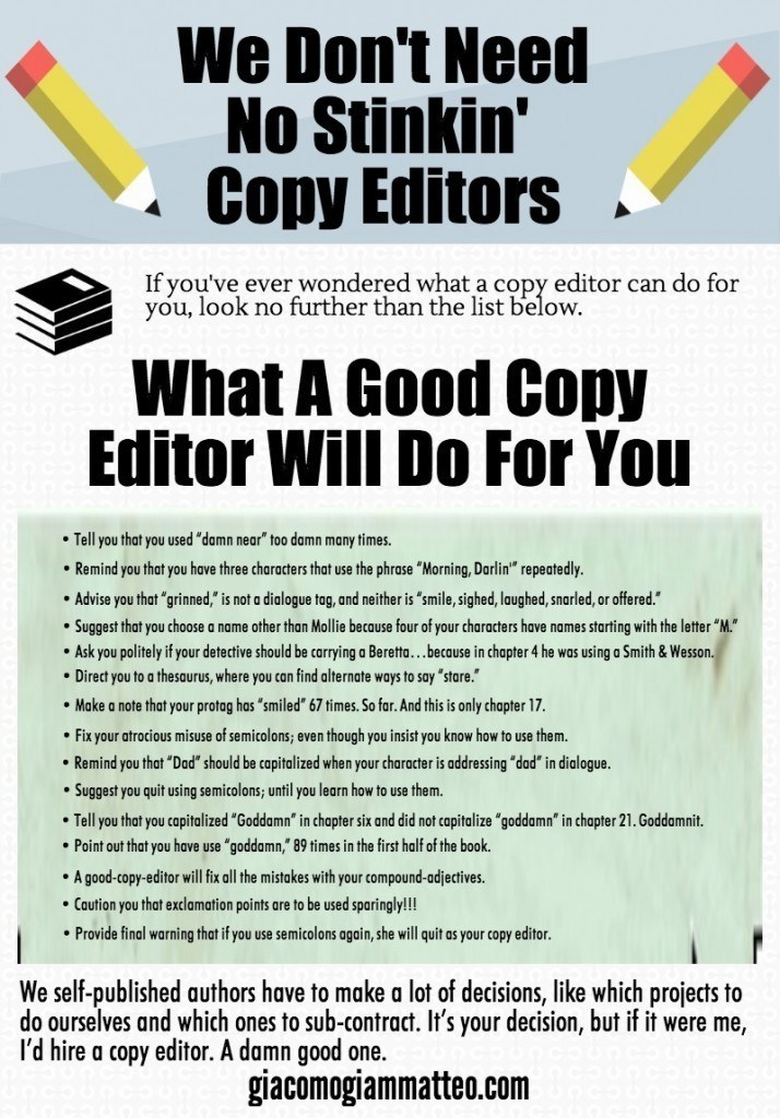 what a copy editor can do for you