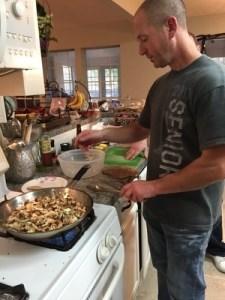 cooking up a mushroom medley