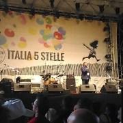 Giannarelli sul Palco di Italia 5 Stelle