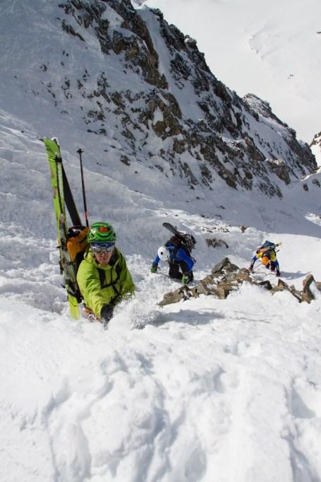 8 pizzo bernina scialpinismo direttissima canale sud sci mountainspace giacomo longhi (5)