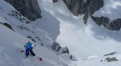 pizzo del ferro orientale sci ripido discesa sci capanna albigna mountainspace (6)