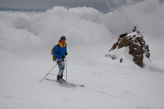 Scialpinismo monte rosa monte rosa highway skialper capanna margherita giacomo longhi mountainspace vincent parrot corno nero balmenhorn zumstein - (17)