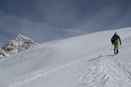 Scialpinismo monte rosa monte rosa highway skialper capanna margherita giacomo longhi mountainspace vincent parrot corno nero balmenhorn zumstein - (19)