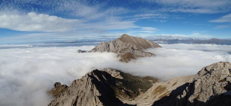 Grignetta segantini mare di nuvole giacomo longhi michle gusmini marco ballerini magnaghi bivacco climb lecco forno della grigna camp mountainspace (5)