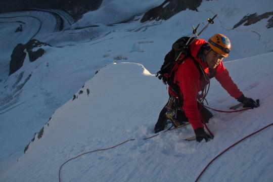 Piz Palu - quarto sperone - palu bernina soresini kuffner alpinismo diavolezza cambrena giacomo longhi mountainspace marco ballerini giorgio colzani (14)