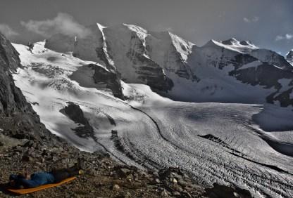 Piz Palu - quarto sperone - palu bernina soresini kuffner alpinismo diavolezza cambrena giacomo longhi mountainspace marco ballerini giorgio colzani (37)