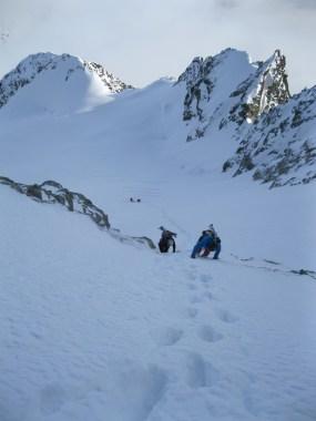 Piz morteratsch via zippert sci boval tschierva mountainspace giacomo longhi marco ballerini scialpinismo engadina bernina valentino cividini spraunza (27)