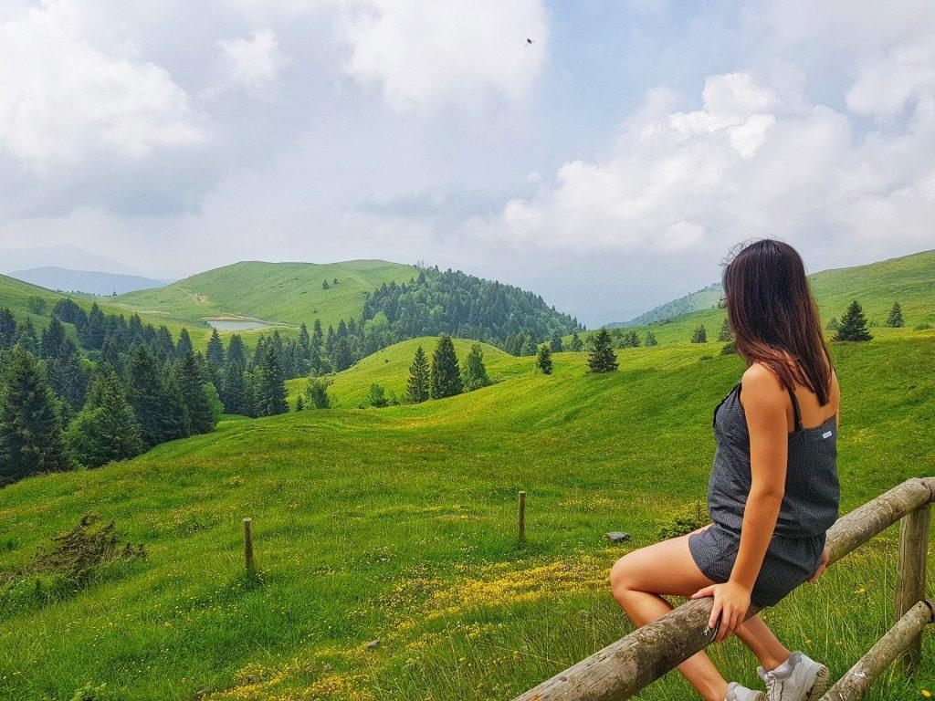 Monte Farno Valgandino - prati gialli