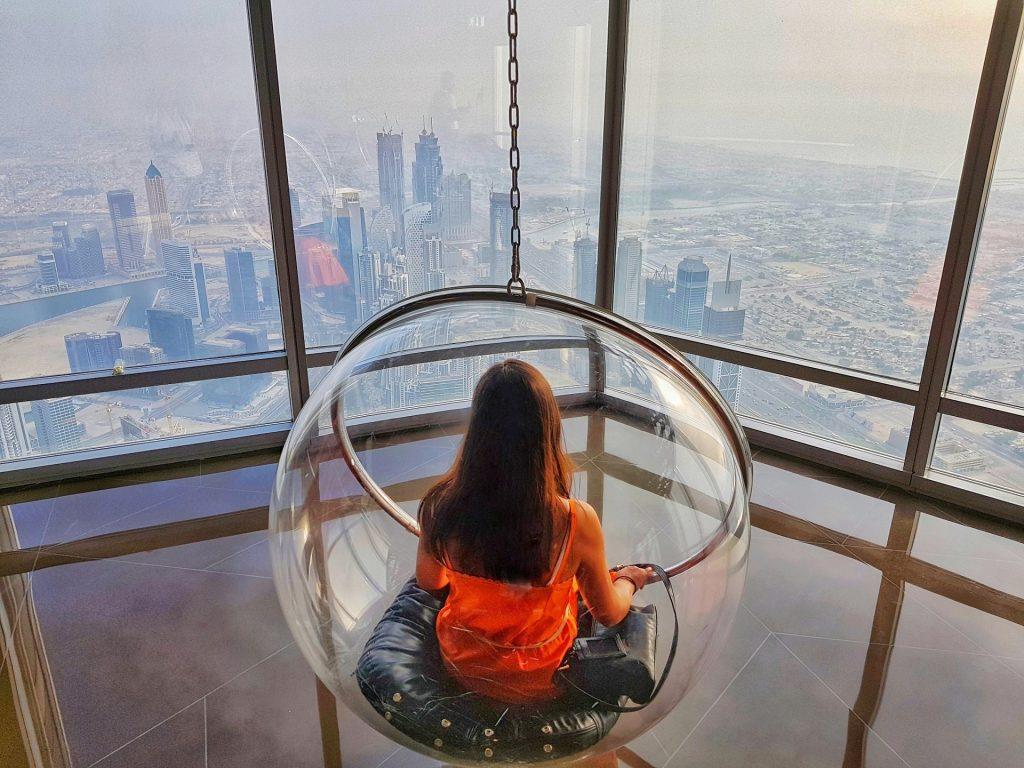 Sfera di vetro Burj Khalifa