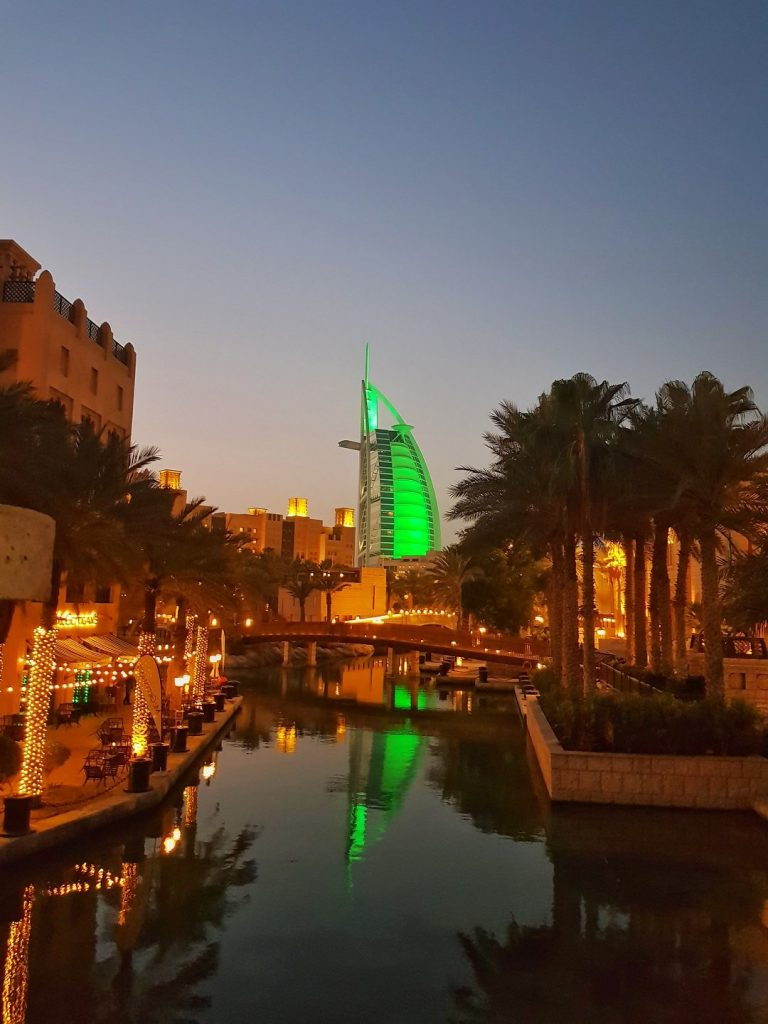 Burj Al Arab da Madinat Jumeirah