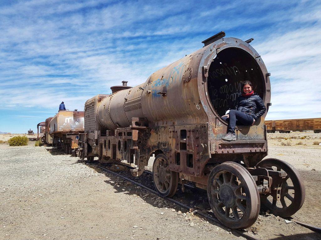 il cimitero dei treni salar