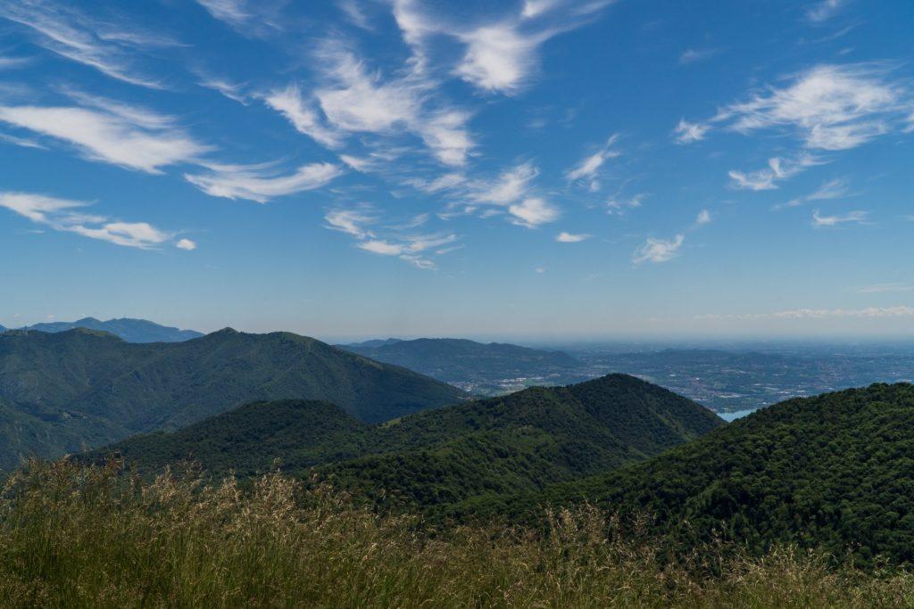 Vista Monte Palanzone Branza