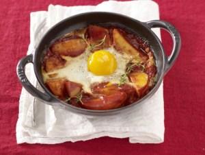 patate con uova