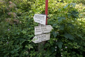 itinerario per trekking