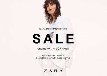 Converse và Zara Sài Gòn sale off đến 50% từ hôm nay