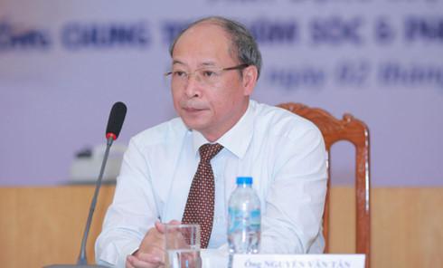 Ông Nguyễn Văn Tân - Phó Tổng cục trưởng Tổng cục Dân số - Kế hoạch hoá gia đình (Bộ Y tế)