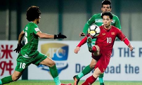 Người hâm mộ Iraq cay cú vì thua Việt Nam. Ảnh: Aljzadeed.