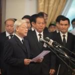 Hàng ngàn người tiễn cố Thủ tướng Phan Văn Khải về đất mẹ