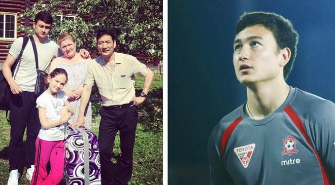 """Hình ảnh bên gia đình của Văn Lâm – thủ thành điển trai đang """"đốn tim"""" hàng loạt NHM"""