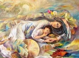 Con cái sung sướng hay khổ cực, giàu sang hay hèn mọn đều do phúc đức của người mẹ