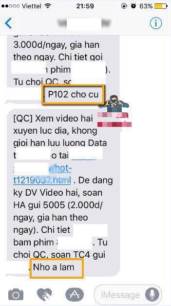 Bất ngờ chưa: Đọc tin nhắn quảng cáo của tổng đài, vợ bỗng dưng phát hiện ra thông điệp lạ bồ nhí gửi chồng - Ảnh 2.