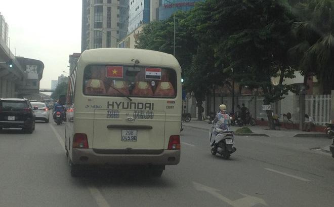 Màn dự đoán tỉ số trận U23 Việt Nam - U23 Syria của chiếc xe khách khiến dân mạng thích thú