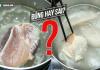 Chuyên gia đầu ngành chỉ cách luộc thịt thôi ra chất độc, chọn và rửa thịt an toàn