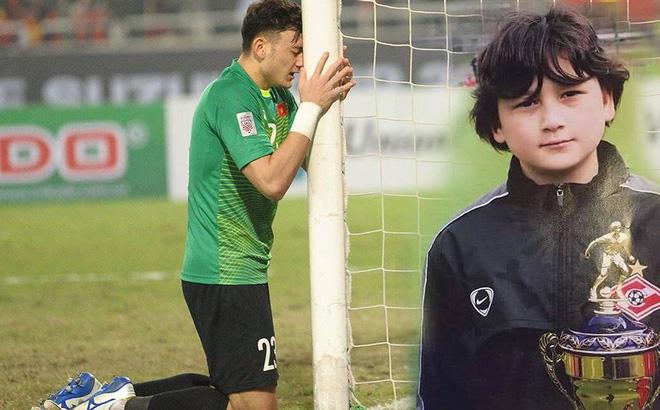 NSND Đặng Hùng chia sẻ ảnh chưa từng tiết lộ của thủ môn Đặng Văn Lâm