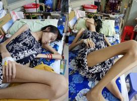 Người mẫu Kim Anh qua đời vì ung thư buồng trứng, hình ảnh cuối đời khiến ai cũng bật khóc