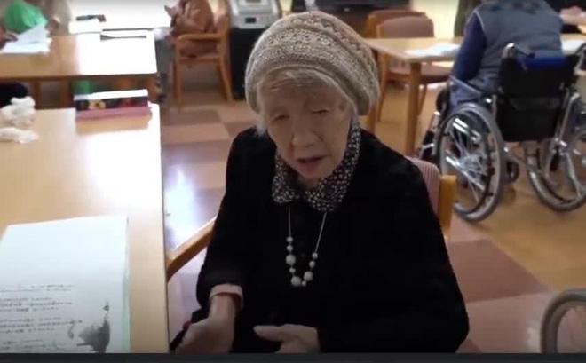 Người sống thọ nhất thế giới gần 118 tuổi, tiết lộ bí quyết