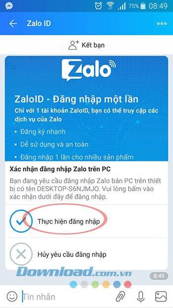 Zalo PC làm việc nhóm hiệu quả và gửi file nhanh