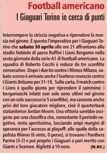 28/04/2016 - La Stampa