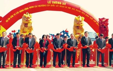 Dự án đầu tư xây dựng công trình cải tạo, nâng cấp QL1 đoạn Hà Nội - Bắc Giang