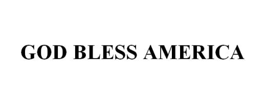 TEATRO: God Bless America di G. Spinato
