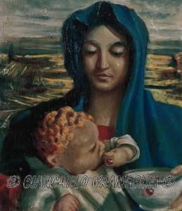 Ma-donna con bambino
