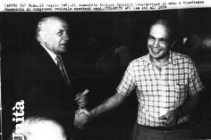 Con Altiero Spinelli al Congresso radicale del 1976