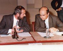 Tribuna elettorale con Mario Capanna (1)