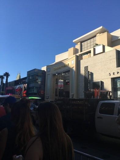 Right across from Jimmy Kimmel!!