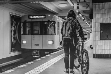 In attesa della metro, in compagnia