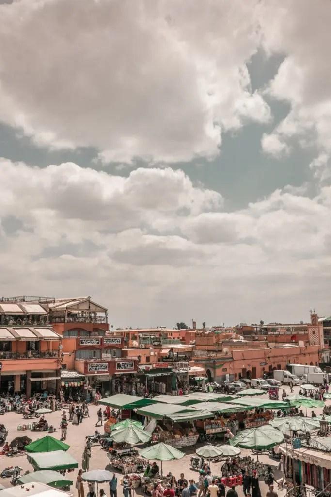 3 giorni a marrakech