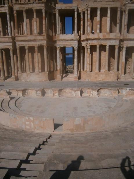 Teatro romano, Libia (2016)