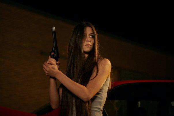 """""""La pistola"""" Xhilda Lapardhaja"""