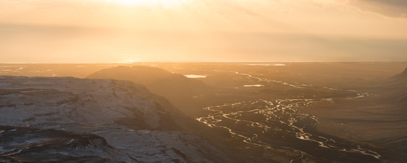 Fiumi del Vatnajökull