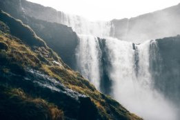 Faroese-waterfall